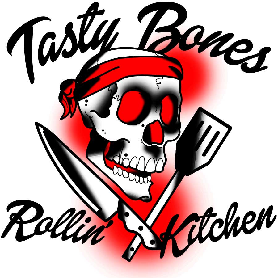 Tasty Bones Rolling Kitchen Food Truck logo